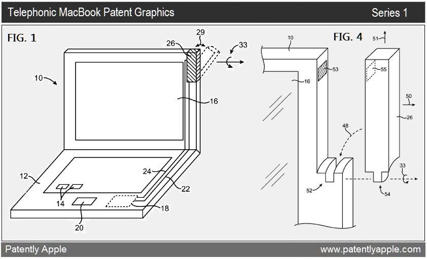 Patente de antena em MacBook