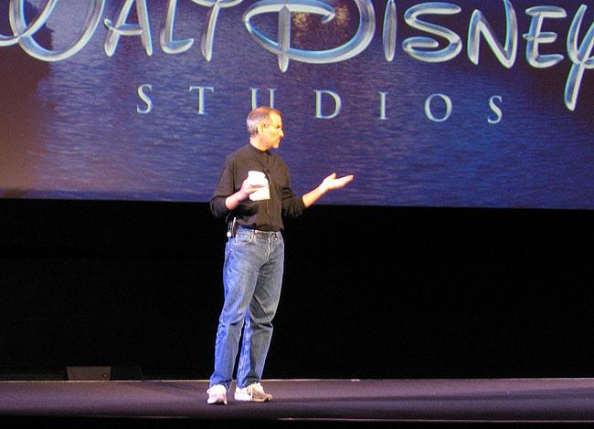 Steve Jobs em keynote sobre a Walt Disney