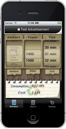 Power Simulator no iPhone