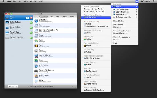 Slink - Mac OS X