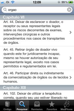 Código de Ética Médica - iPhone