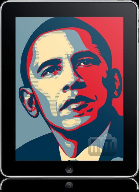 Barack Obama e iPad