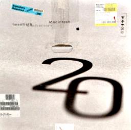 Twentieth Anniversary Macintosh na caixa