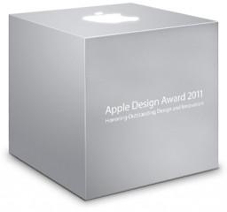Caixa do Apple Design Awards (ADA) 2011 da WWDC