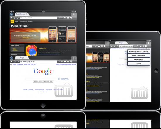 MultiWeb em iPads