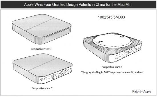 Design do Mac mini