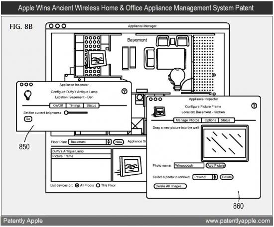 Patente de sistema de automação doméstica