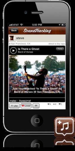 SoundTracking para iOS