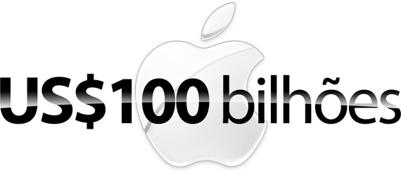 Logo da Apple - US$100 bilhões