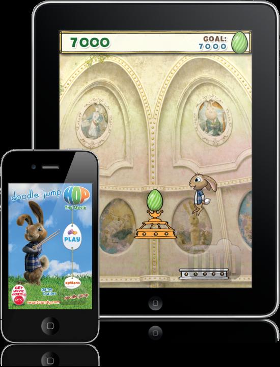 Doodle Jump: HOP The Movie - iPad e iPhone
