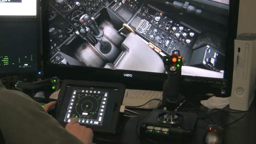 Simulador de Voo Controlado por iPad