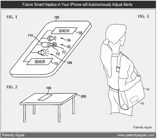 Patente de alarmes inteligentes