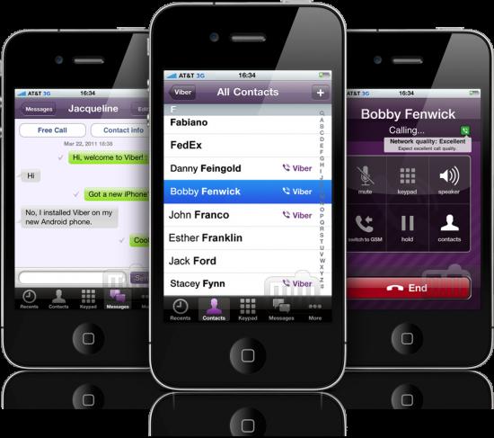 Viber 2.0 em iPhones