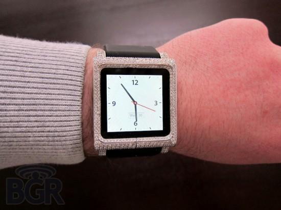ZShock diamantes com iPod nano