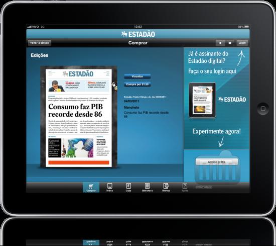 Estadão - iPad