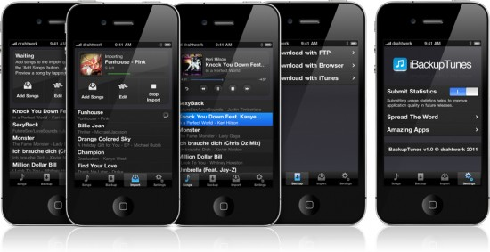 iBackupTunes - iPhones