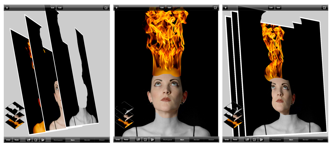 Camadas no Photoshop para iPad