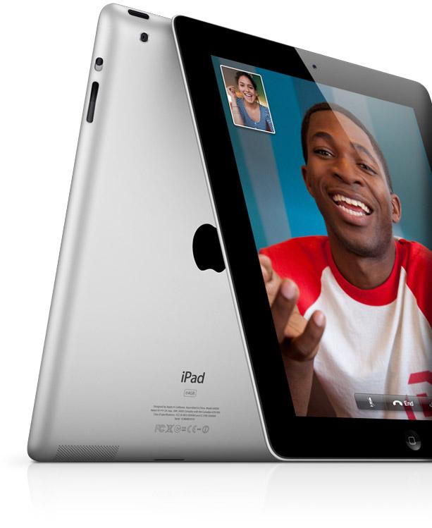 Câmeras do iPad 2 com FaceTime