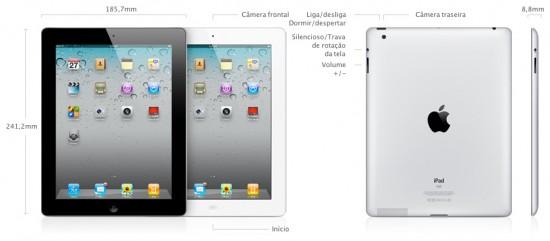Design do iPad 2
