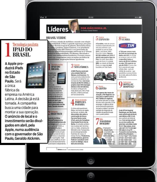 Montadora do iPad no Brasil?