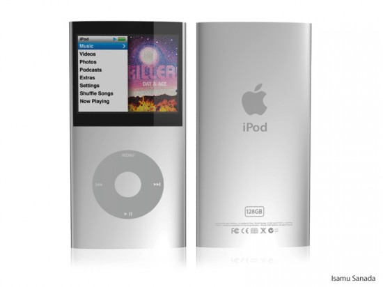 Conceito de iPod classic