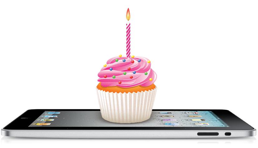 Aniversário do iPad