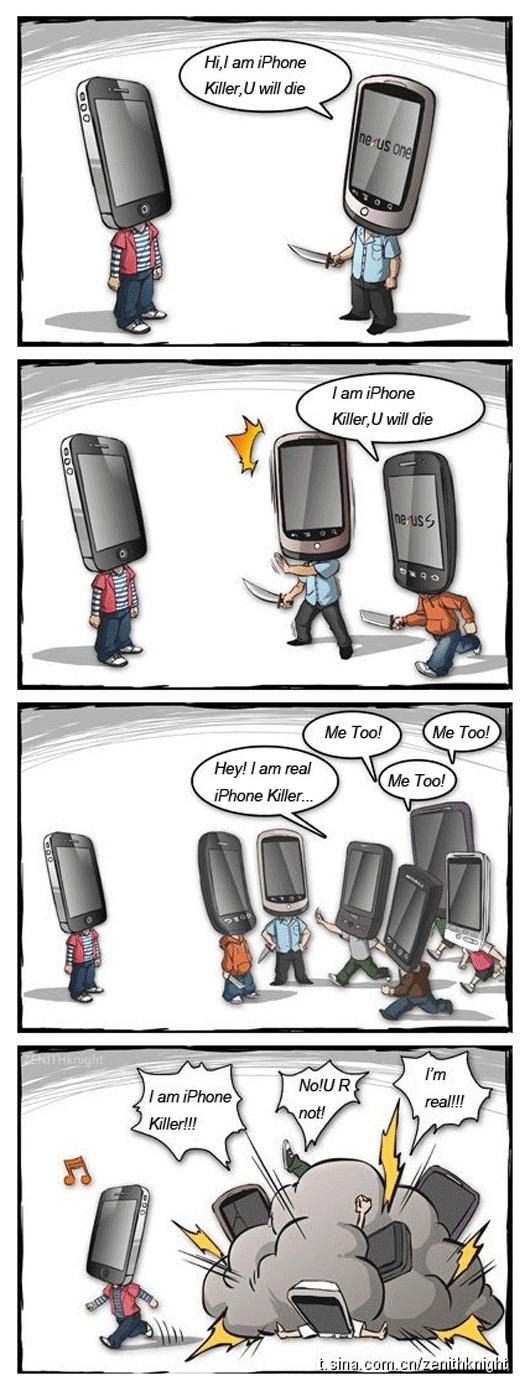 Tirinha - iPhone-killers