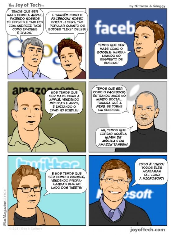 Joy of Tech - Todos sao inovadores