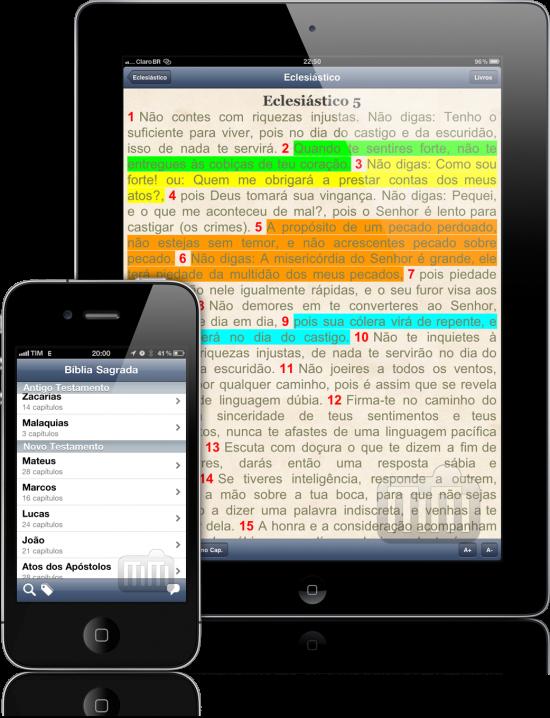 Pocket Biblia - iPad e iPhone