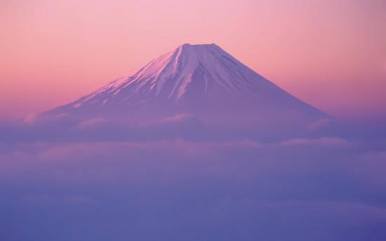 Wallpaper do Monte Fuji no Mac OS X Lion