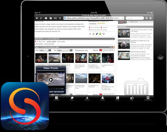 Skyfire para iPad