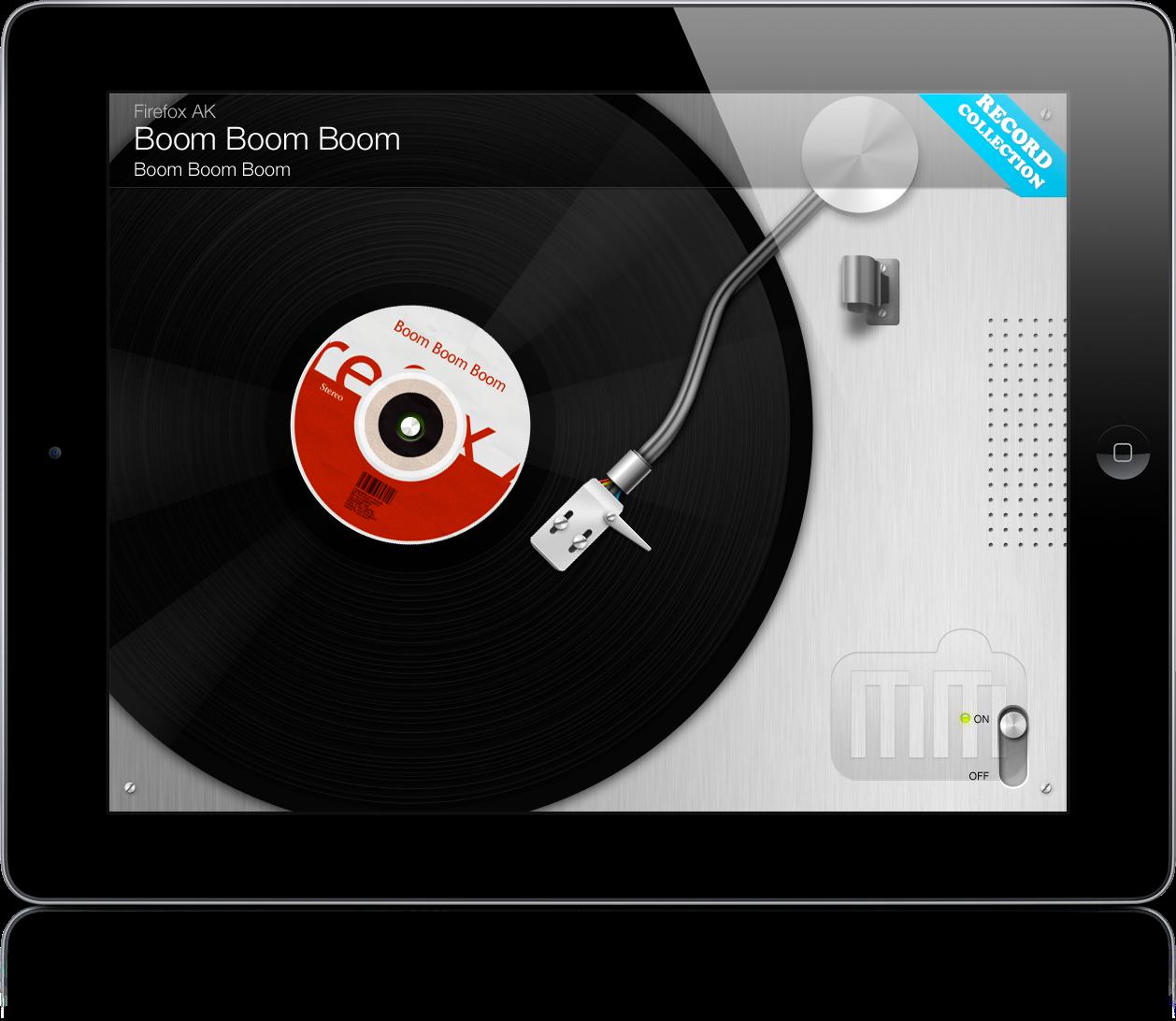 VinylLove no iPad