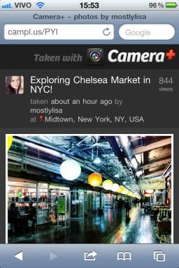 Camera Plus - Mobile version