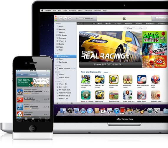 iPhone e App Store