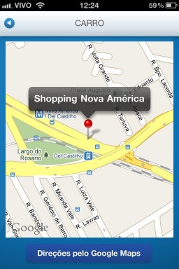Shopping Nova América - iPhone