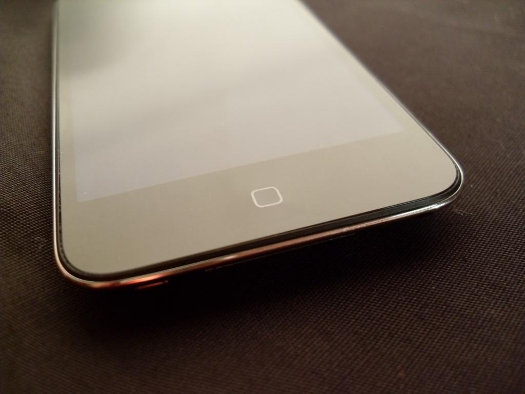 iPod touch com botão Home capacitivo