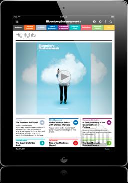 Bloomberg Businessweek no iPad