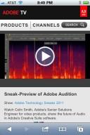 Adobe TV no iOS
