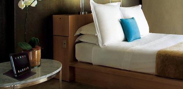 iPad em Hotel