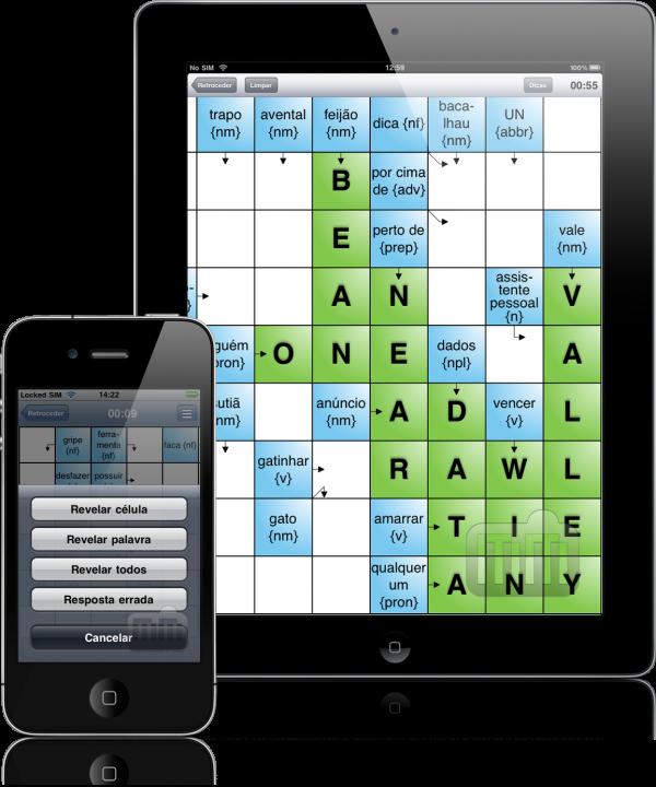 Aprenda Inglês com Palavras Cruzadas - iPhone e iPad