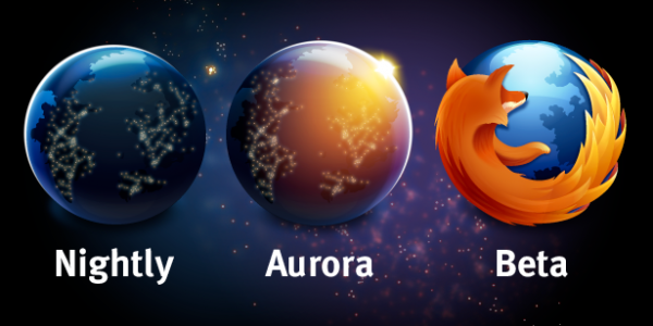 Logos Mozilla - Aurora