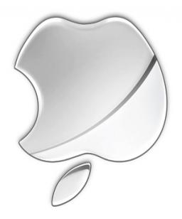 Lodo da Apple de cabeça pra baixo