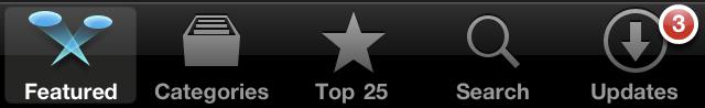 Barra de Abas do iOS