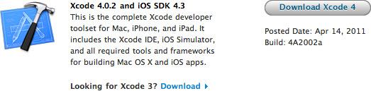 Xcode 4.0.2
