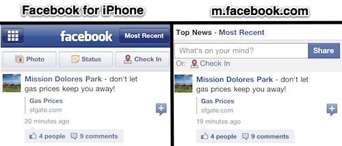 Feed de notícias do Facebook