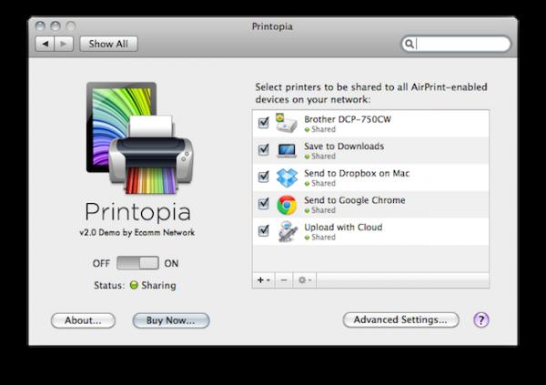 Printopia 2.0