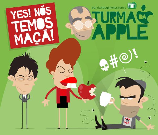 Turma da Apple - Yes! Nos temos Maca