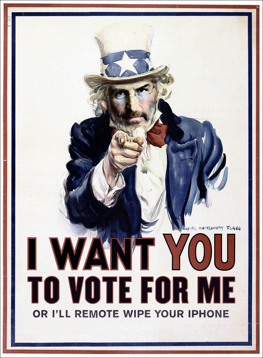Uncle Jobs - Jobs2012.com para presidente