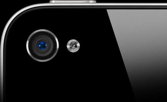 Câmera do iPhone 4
