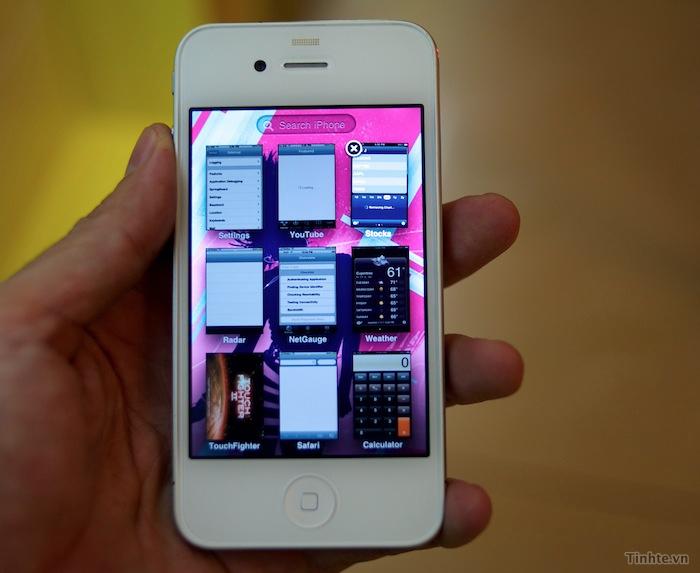 iOS 5 com multitarefa à la Exposé